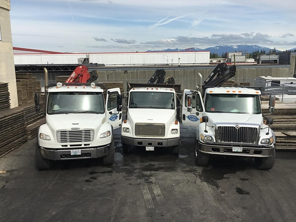 truck Crane Freight Delivery Services Abbotsford